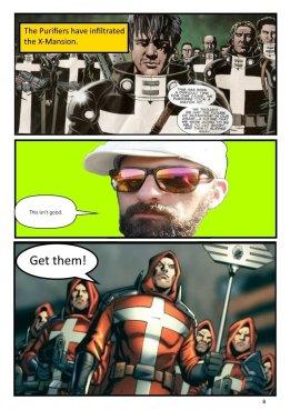 Nerdarchy comic book No. 1, page 8