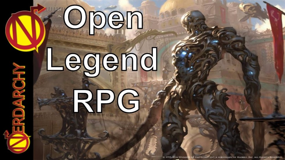 Open Legend RPG
