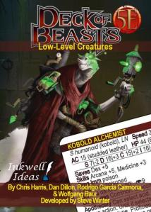 Deck of Beasts: Kobold Press Is Holding All The Cards!