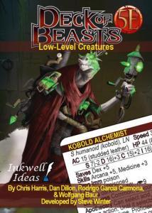 Kobold Press Deck of Beasts