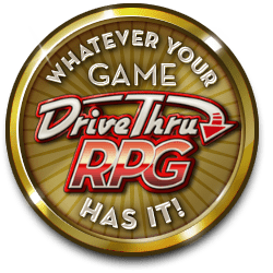 DriveThruRPG Sponsors Nerdarchy and Saves You Money on RPG Stuff