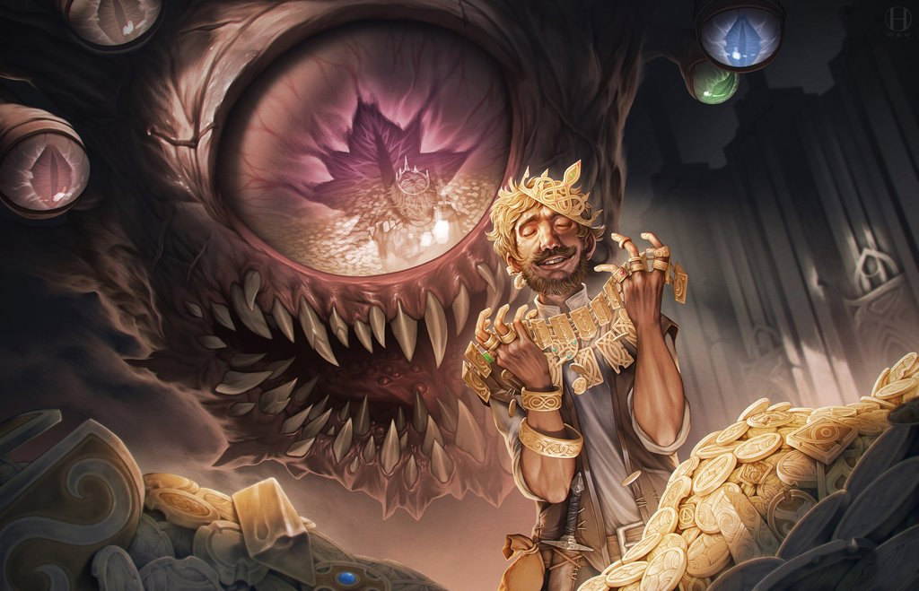bringing D&D beholders to life creating a beholder lair beholder paraonoia