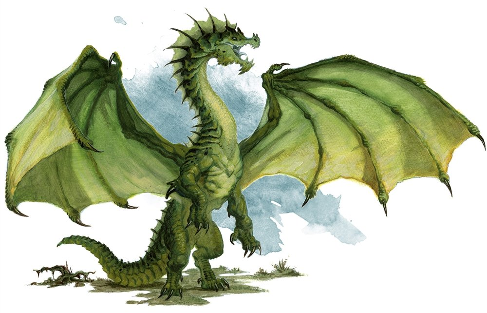 D&D dragon lairs introducing a dragon green dragon lairs