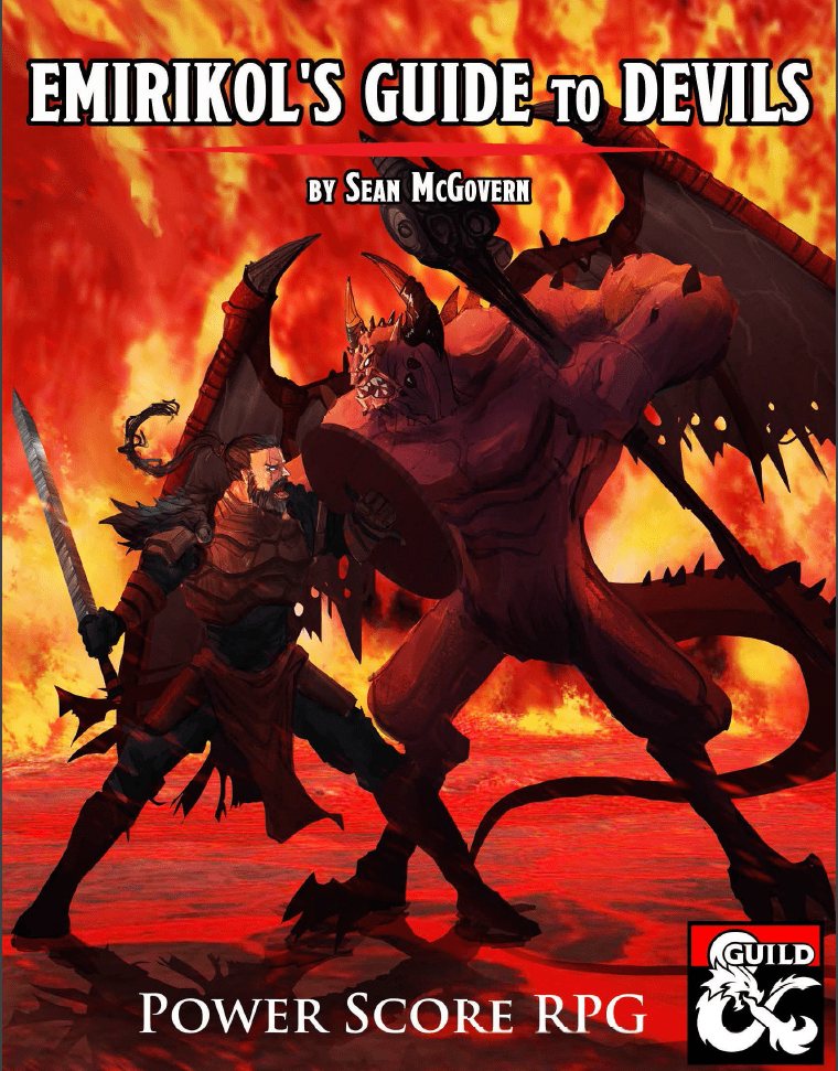 Homebrew Review: Emirikol's Guide To Devils for D&D