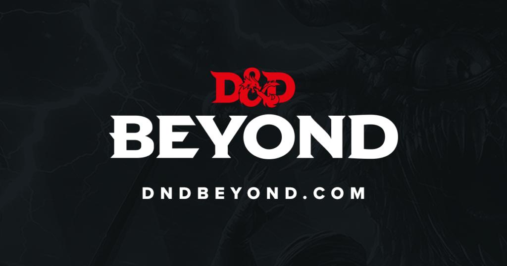 DDB D&D Beyond campaign digital toolset