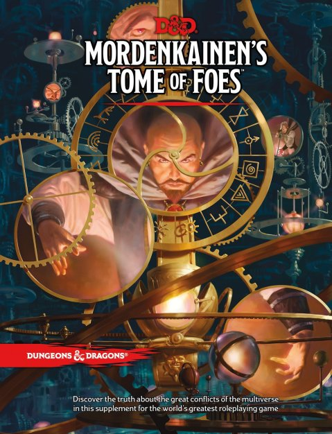 Mordenkainen, Tome of Foes, D&D