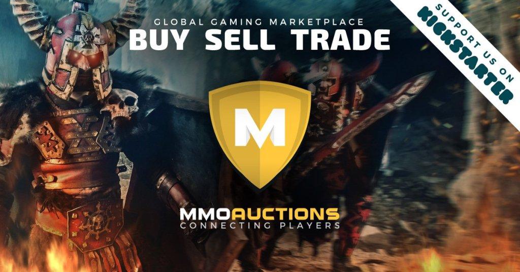 MMO marketplace Kickstarter