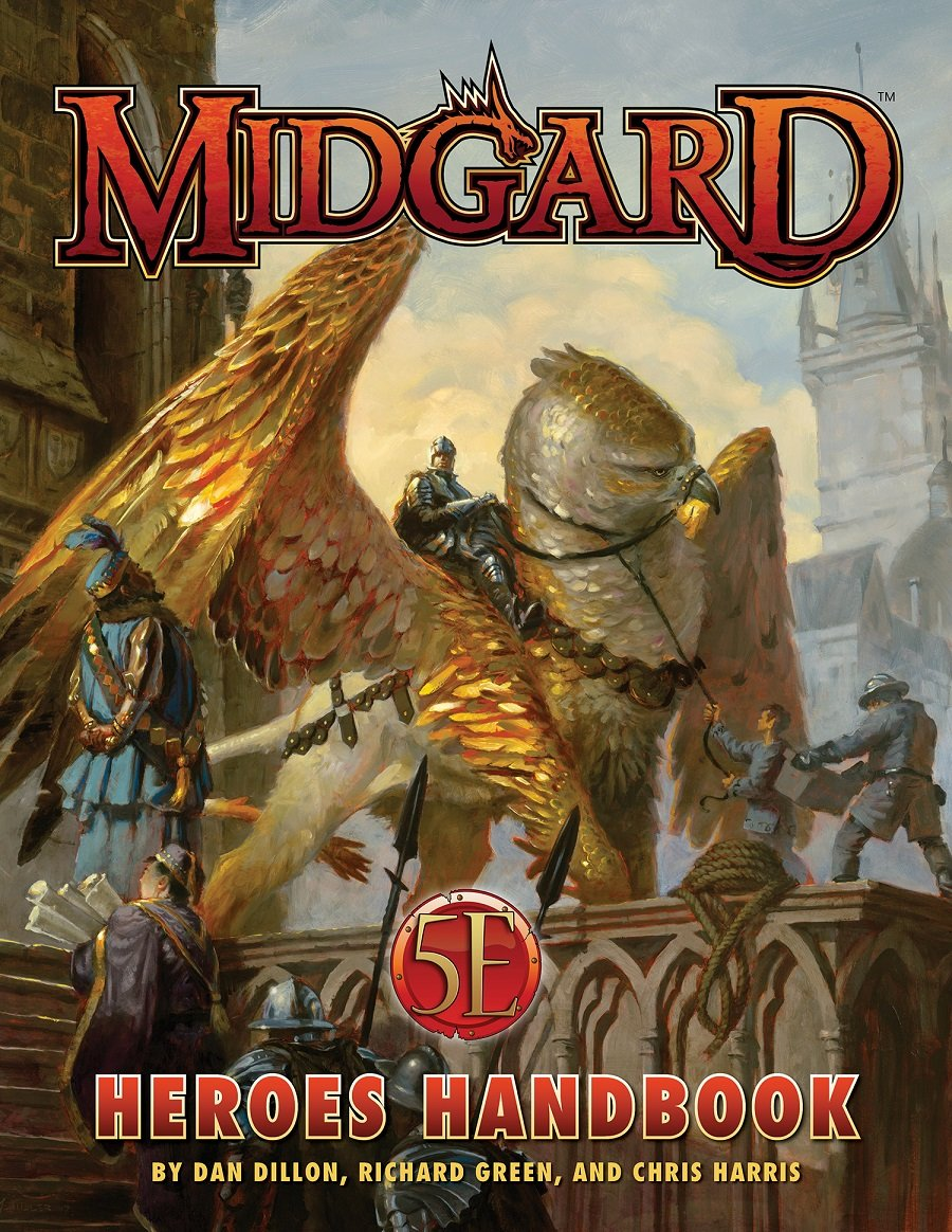 5E Midgard Heroes Handbook from Kobold Press Awaits the Bold
