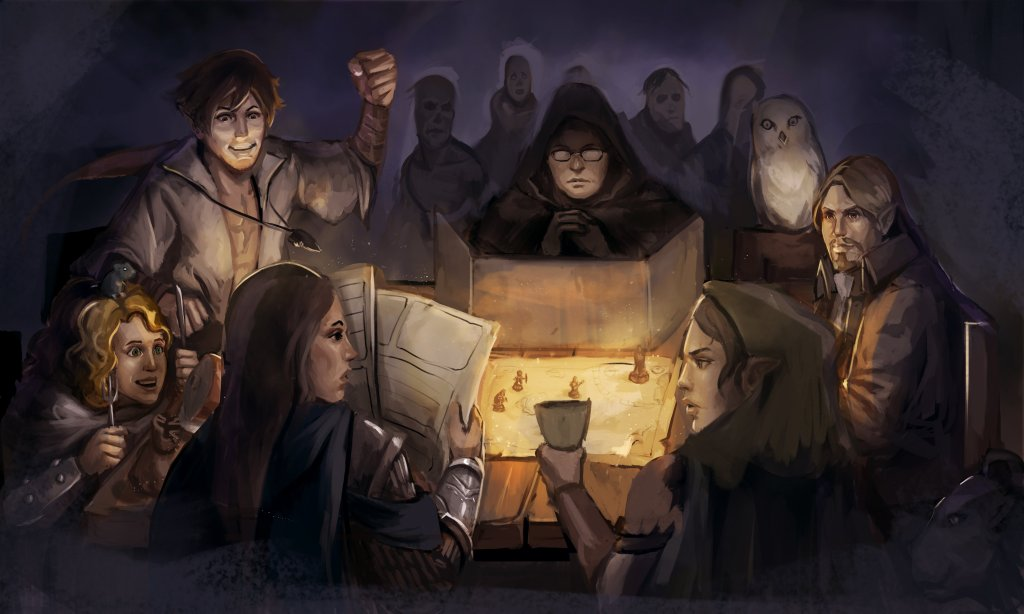 RPG game master player 5E D&D player agency
