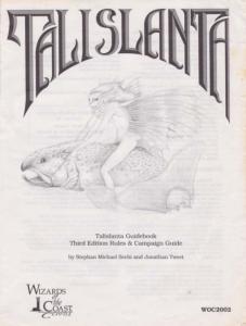 Talislanta RPG