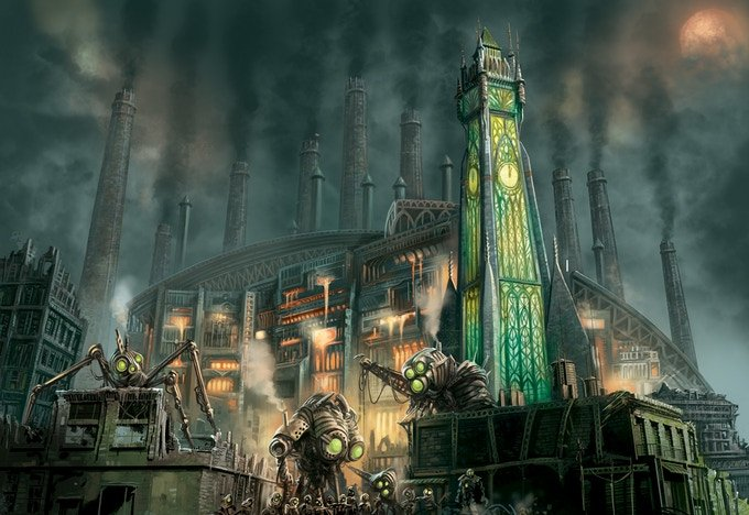 Ironrise – A Steampunk Adventure Board Game