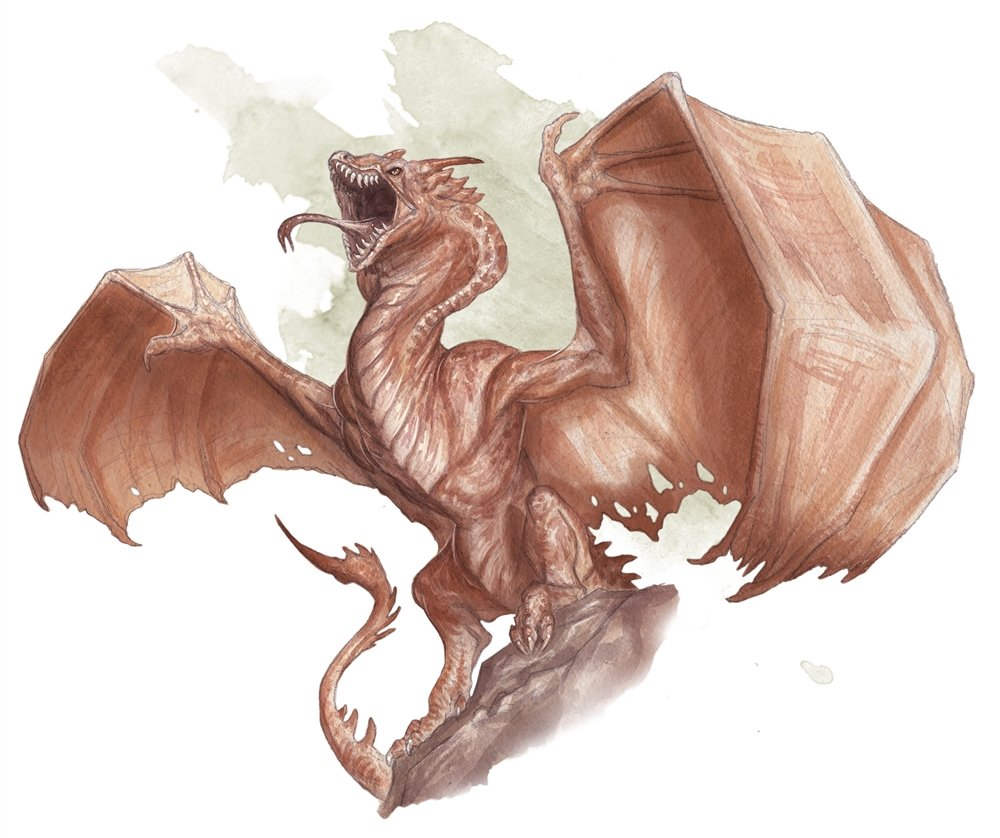 Out of the Box D&D encounters wyvern