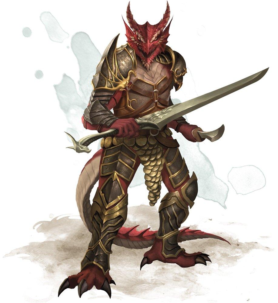 half-dragon playable D&D race