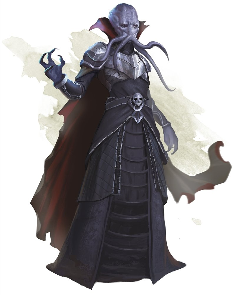 mind flayer Dungeons & Dragons monster