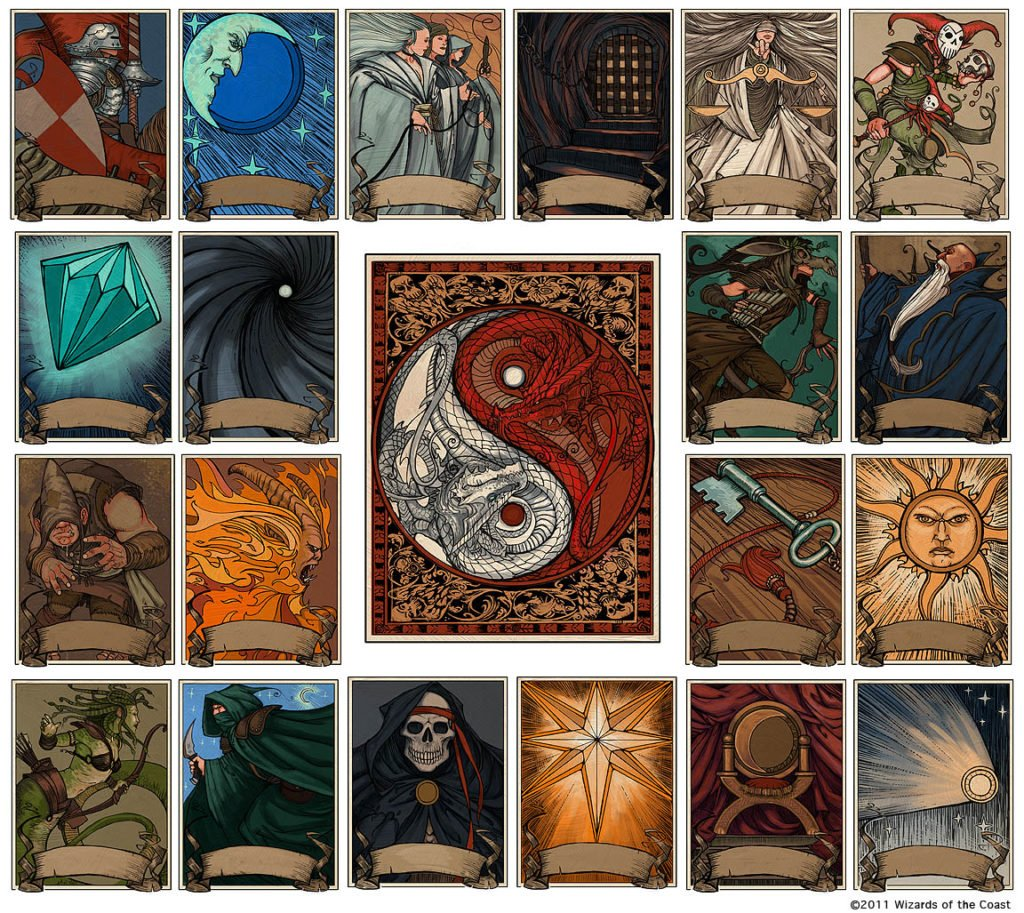 Deck of Many Things D&D campaign legendary magic item
