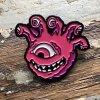 eyegor enamel pin pink