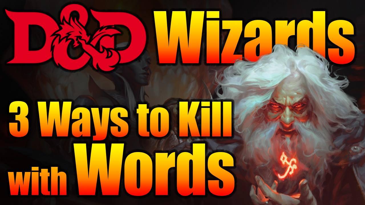 D&D Wizard 5e