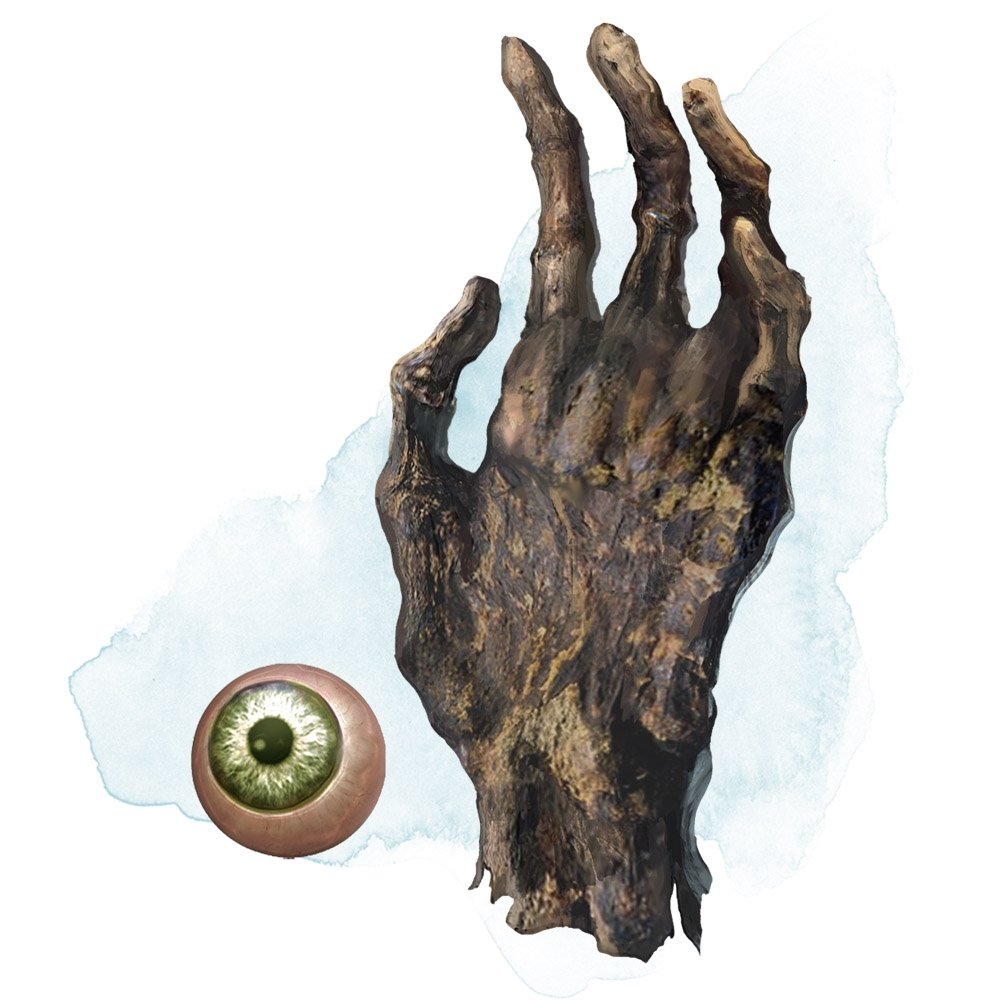 D&D artifacts