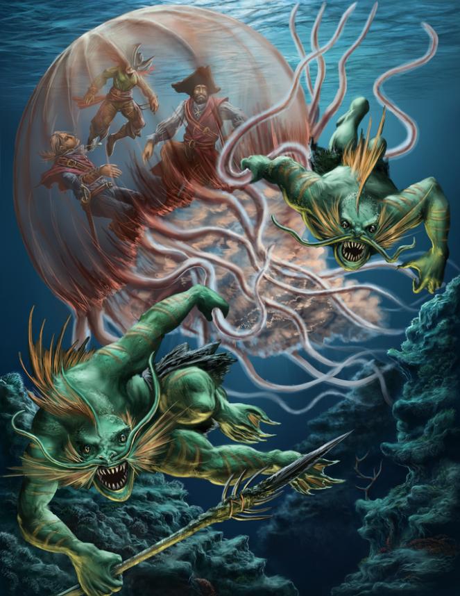 D&D ideas, aquatic adventures