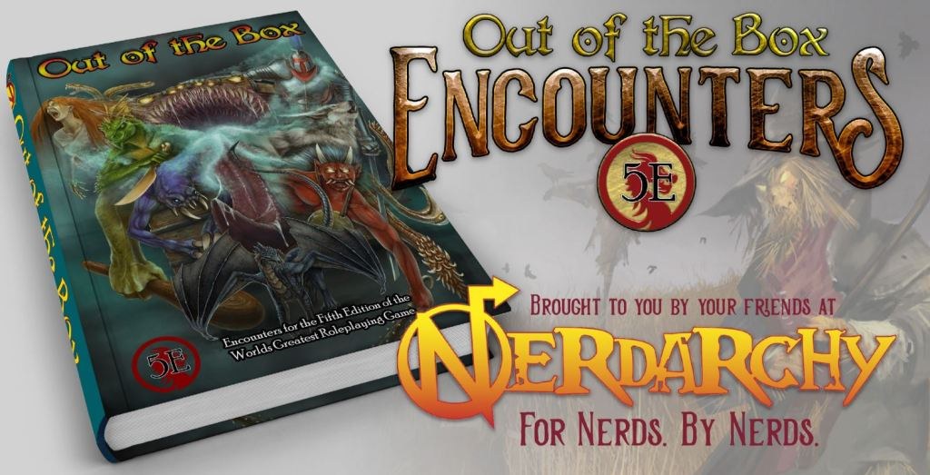 Out of the Box Encounters for 5th Edition D&D Kickstarter