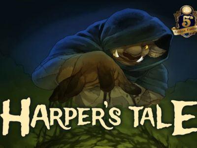 Harper's Tale Indiegogo DnD adventure