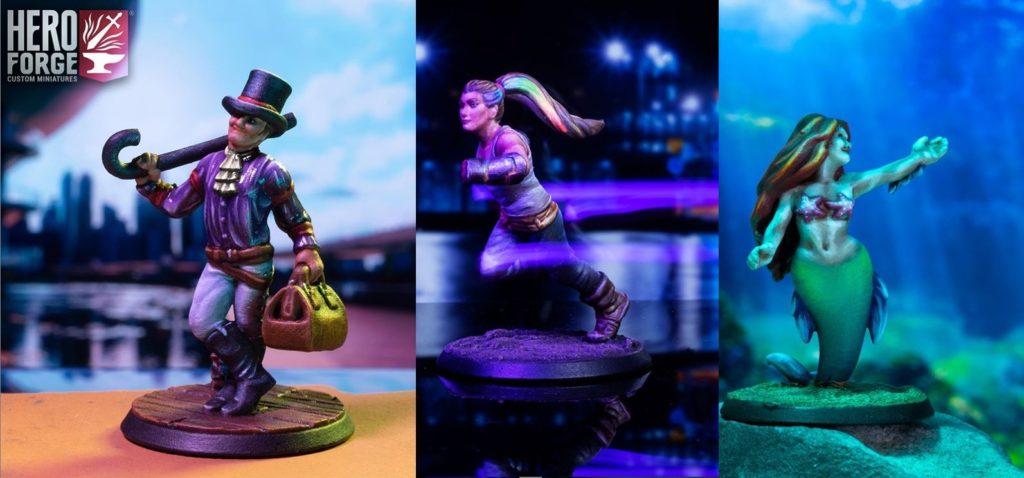 Hero Forge custom miniatures