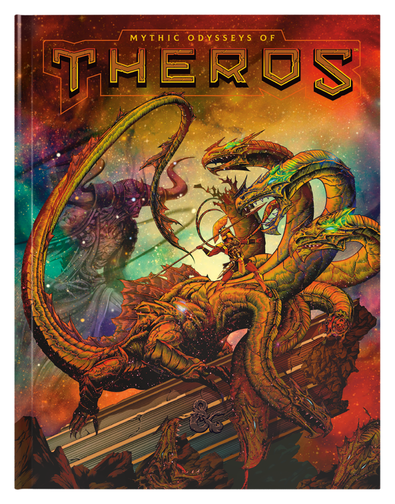 5E D&D mythic odysseys of theros alternate cover art