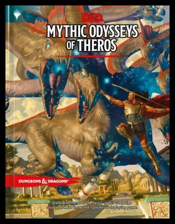 mythic odysseys of theros 5E D&D campaign setting book
