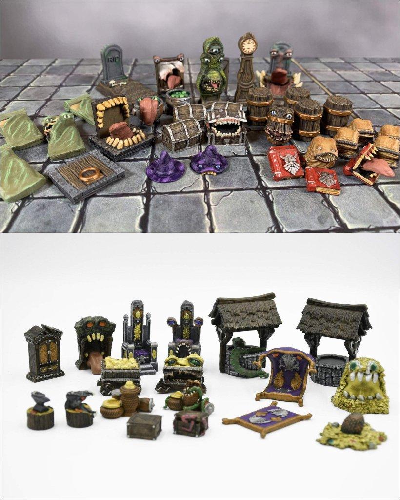 Galladoria Games miniatures mimic invasion
