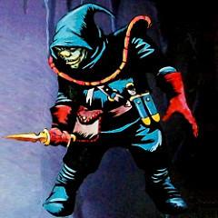 5E D&D half orc assassin