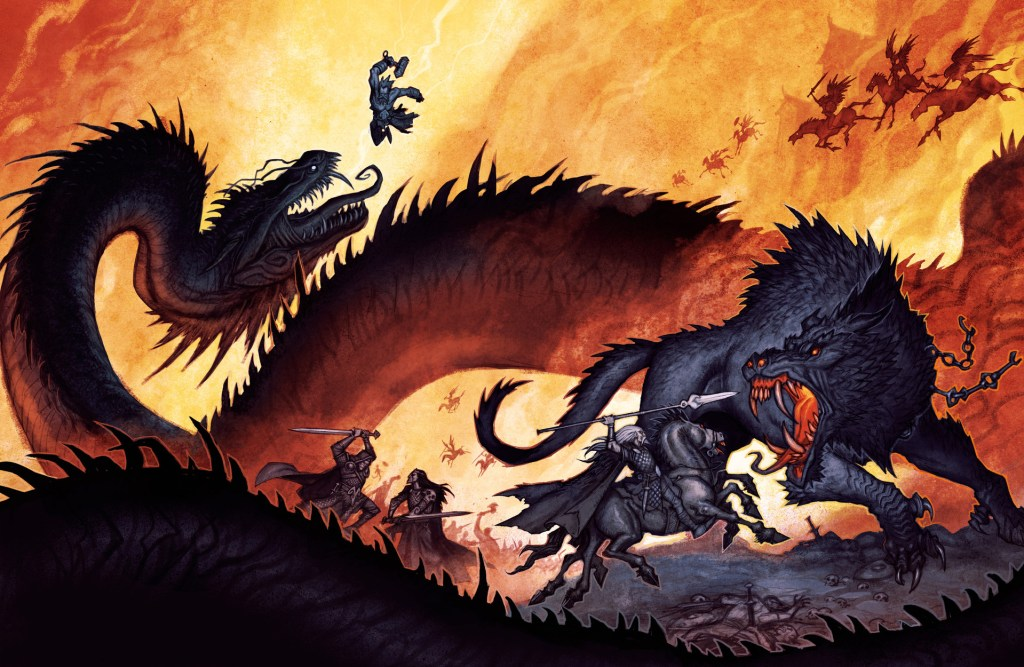 5E D&D mythological campaign theme norse ragnarok