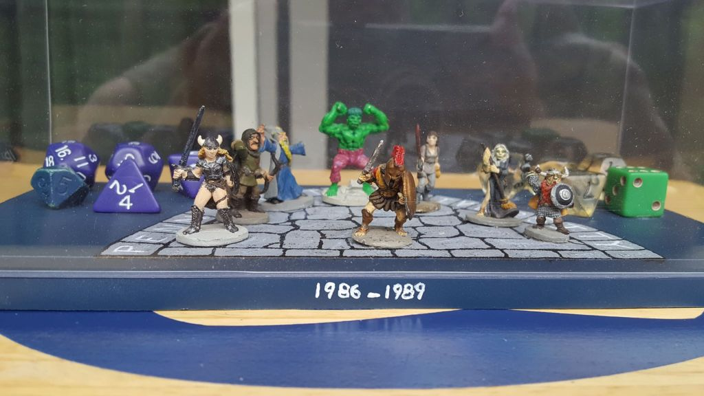 D&D miniatures roleplaying game