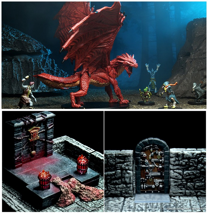 WizKids City of Lost Omens miniatures