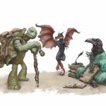 Tasha's Cauldron of Everything tortle winged kobold kenku sidekicks