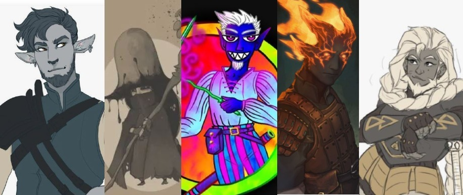 5E D&D favorite characters