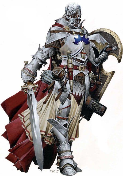 5E D&D warforged defender