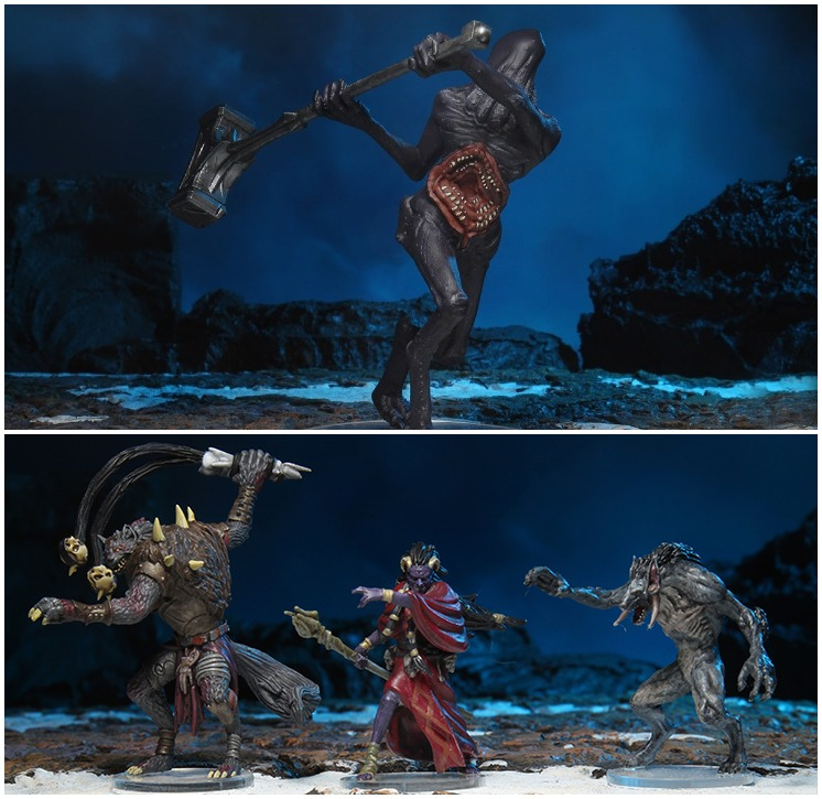5E D&D WizKids Icewind Dale: Rime of the Frostmaiden miniatures