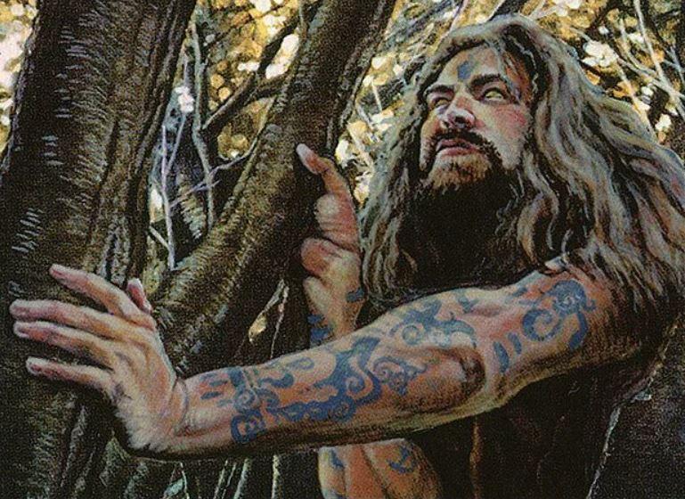 MTG hermit druid 5E D&D hermit background