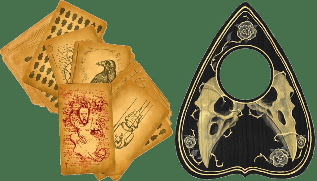 Van Richten's Guide to Ravenloft Tarokka Deck Spirit Board planchette 5E D&D