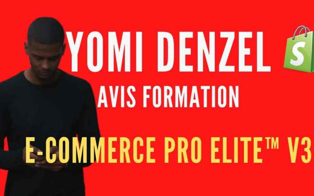 Mon avis Honnête sur Yomi Denzel