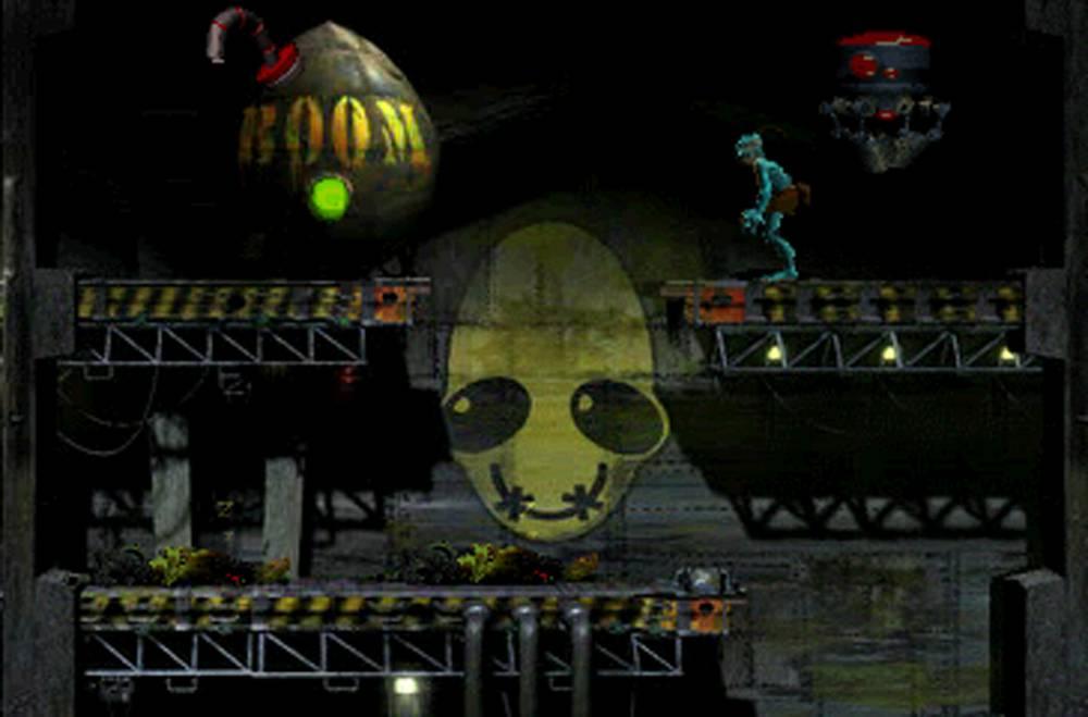 Image result for oddworld abe's oddysee psone
