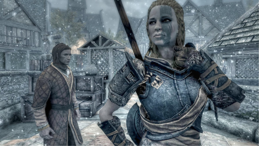 Skyrim pictures marriage with partners in Skyrim Marriage