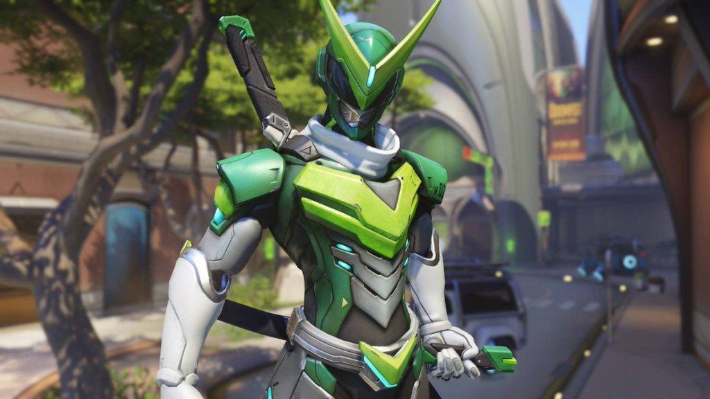Genji's Sentai Skin