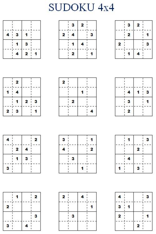 Sudoku Printable