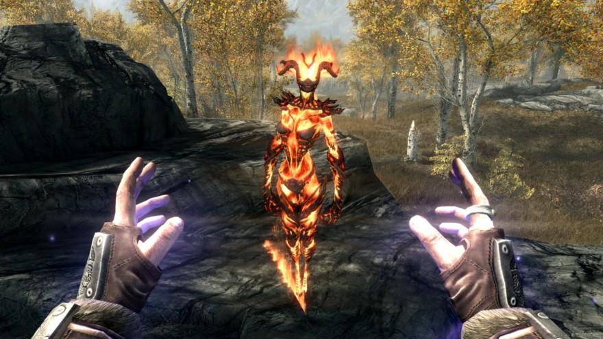 Flame Thrall Skyrim