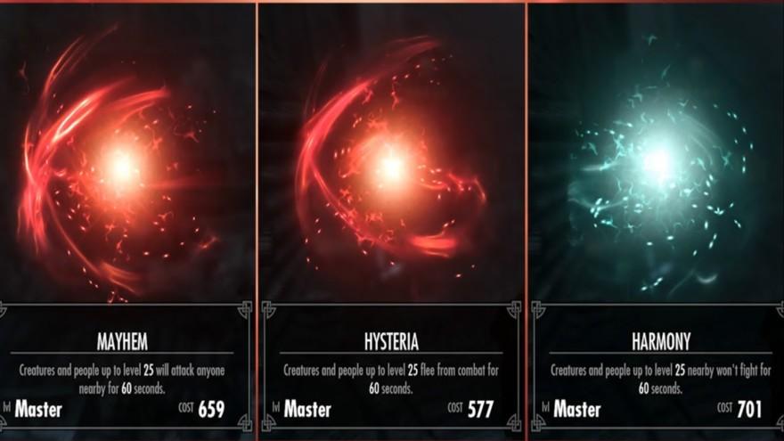Skyrim Master Illusion Spells
