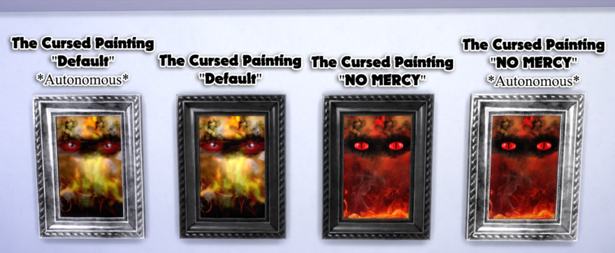 The Cursed Painting Mod