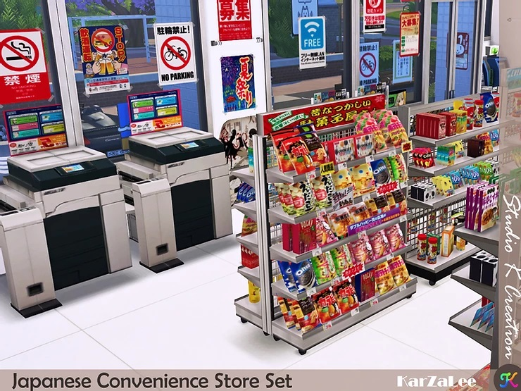 Japanese Convenience Store Set