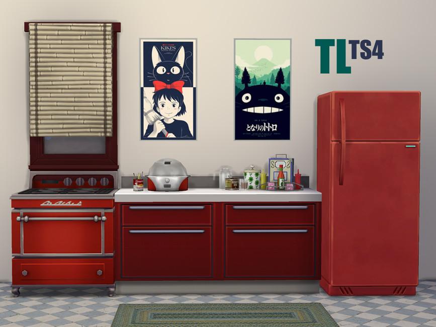 Team Kiki And Totoro Posters