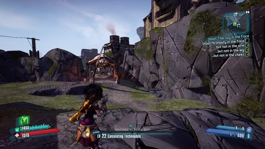 Borderlands 2 Third Person Mod